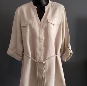 LADY HATHAWAY Linen Dress/Tunic